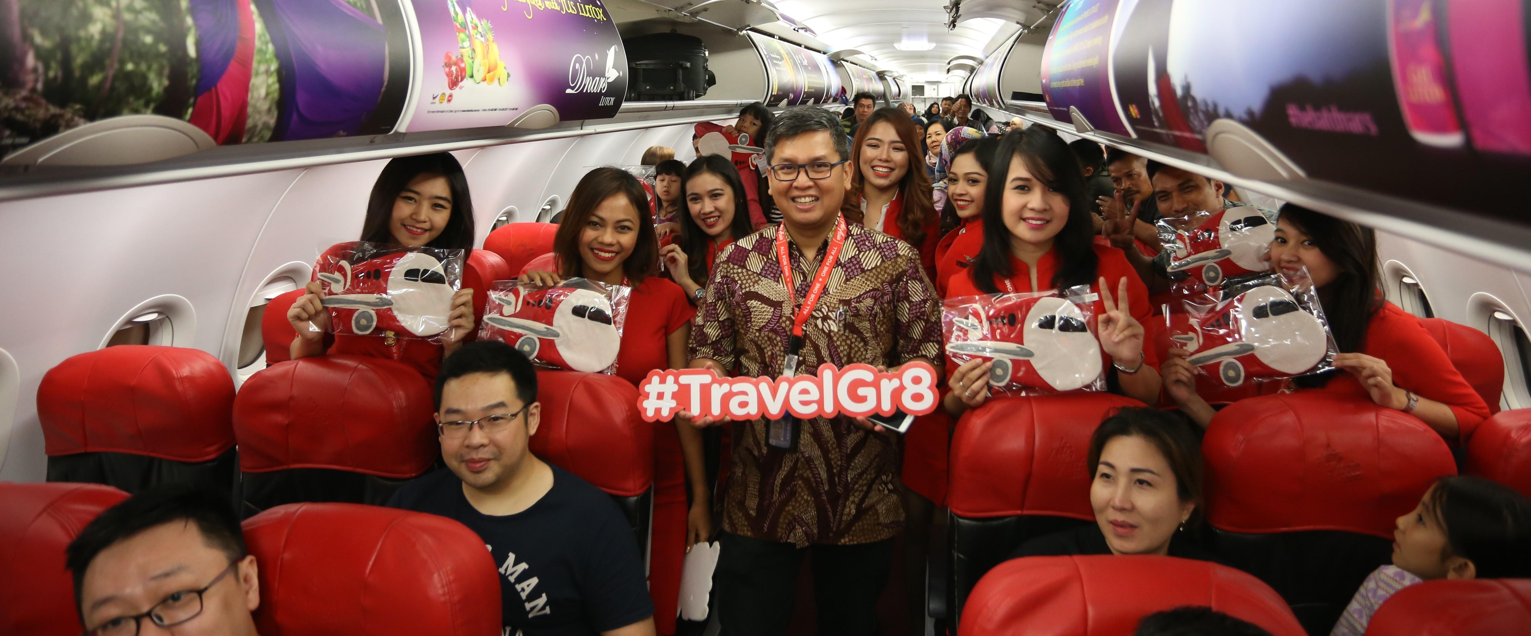 AirAsia Buka Rute Jakarta - Johor Bahru