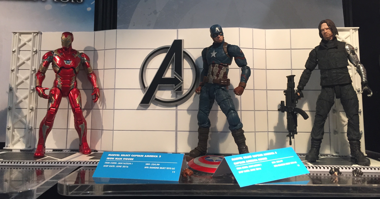 Video Stop Motion, Captain America Civil War
