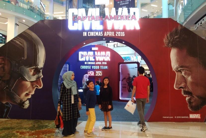Awal Mei, Captain America Sambangi Jakarta