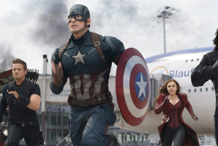 Pendapatan Turun, Captain America Tetap Rajai Box Office