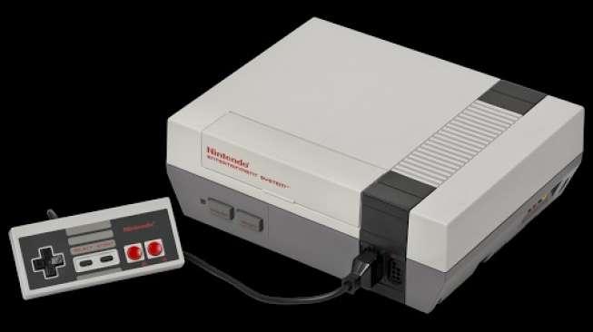 Nintendo Bernostalgia dengan Konsol NES