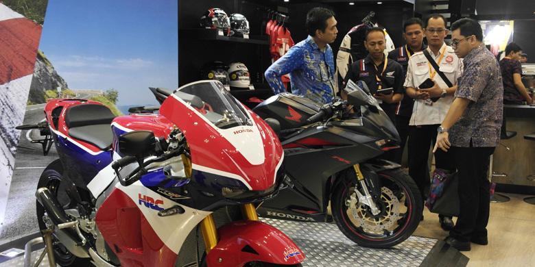Moge Honda dan CBR250RR Juga Laris Manis di GIIAS