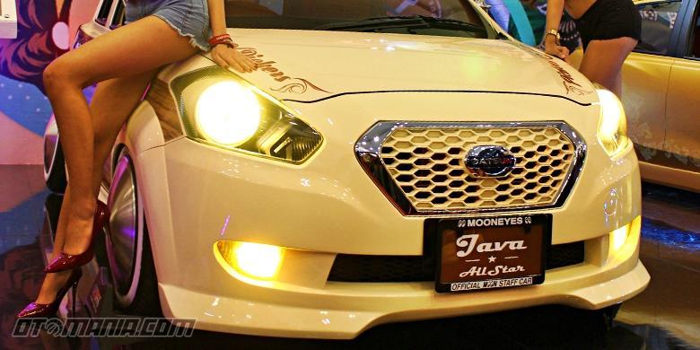 Modifikasi Kisah Klasik Datsun Go+ Panca