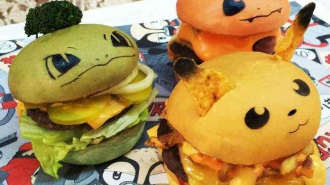 Burger Pokemon, Burger Lucu dengan Cita Rasa Unik