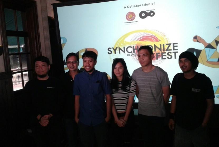 100 Musisi Lokal Ramaikan Synchronize Fest