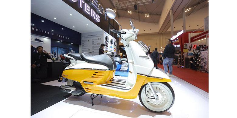 Peugeot Scooter Laris Manis