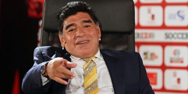 Maradona Dituduh Gunakan Paspor Palsu