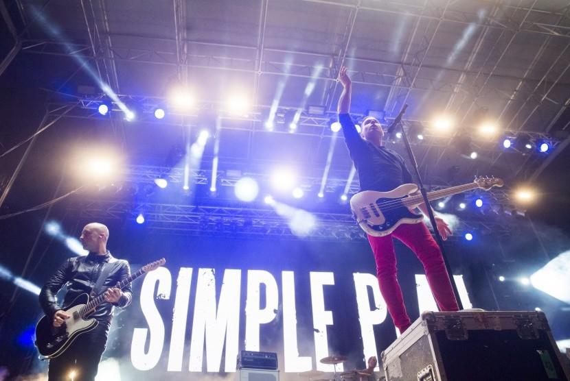 Simple Plan Tutup Soundrenaline dengan 20 Lagu