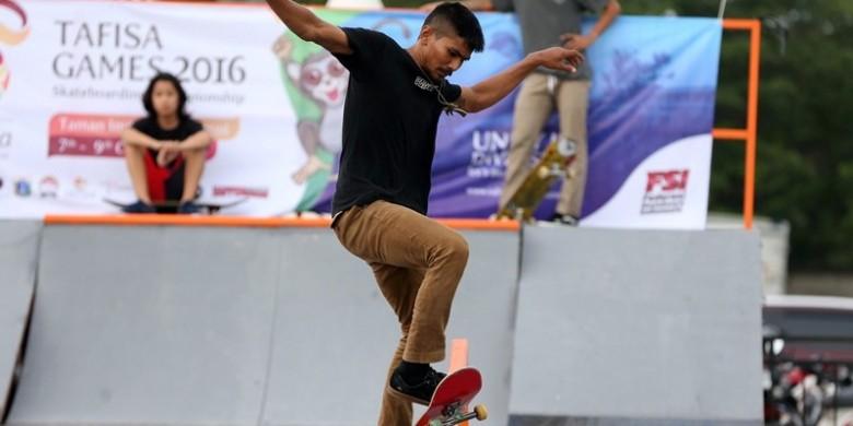 Skateboard TAFISA Games 2016, Kelindan Eropa, Australia, dan Indonesia