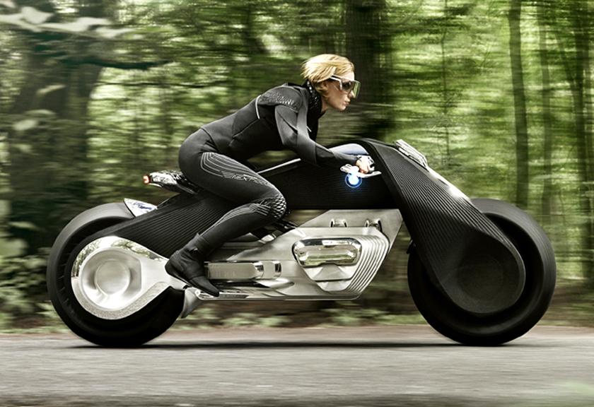 Begini Motor Masa Depan Buatan BMW