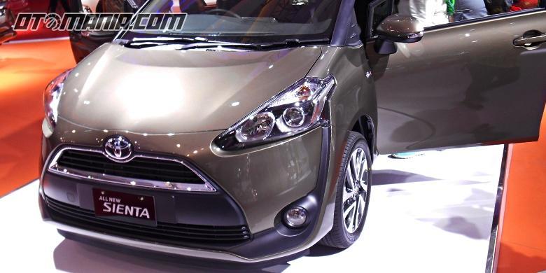 Toyota Sienta Mulai Tebar Diskon Puluhan Juta
