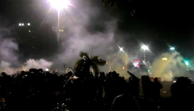 Kapolri Redam Aksi Ricuh Demonstran