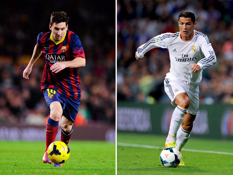 Statistik 'Pertarungan' Messi dan Ronaldo di