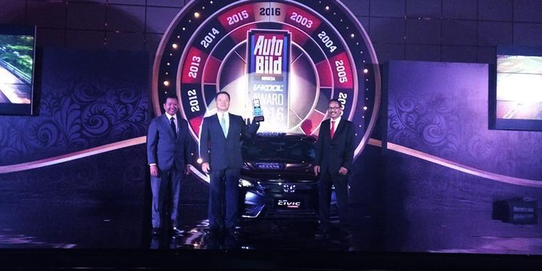 Honda Civic Turbo Jadi Mobil Terbaik Tahun Ini