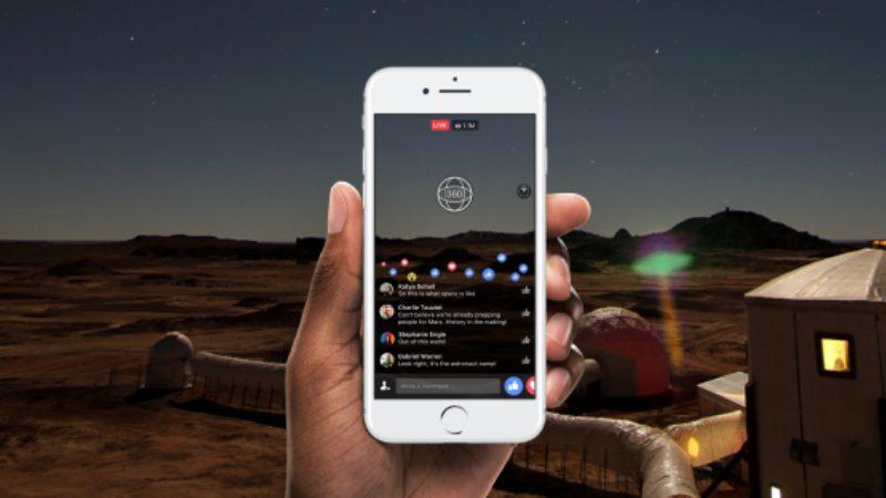 Facebook Luncurkan Fitur Video Siaran Langsung 360 Derajat