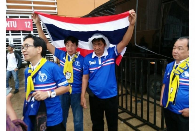 Pendukung Thailand Teriakkan 'We Love Indonesia'